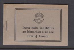 Sweden Booklet 1921 - Facit 16 R MNH ** - 1904-50
