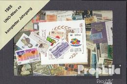 UNO - Wien Postfrisch 1985 Kompletter Jahrgang In Sauberer Erhaltung - Nuevos