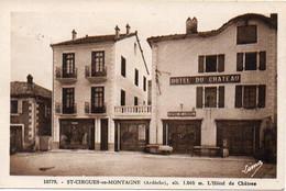 07 ST-CIRGUES-en-MONTAGNE - L'Hôtel Du Château - BE - Other Municipalities