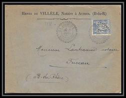 114899 Lettre Cover Entete Villele Bouches Du Rhone La Bourine N°90 Sage Pour Fuveau 1898 - 1877-1920: Semi-moderne Periode