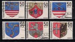 Tchécoslovaquie 1969 Mi 1904-9 (Yv 1750-5), Obliteré, - Usados
