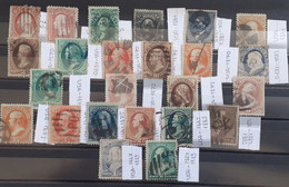 USA CLASSİC STAMPS LOT - Gebraucht