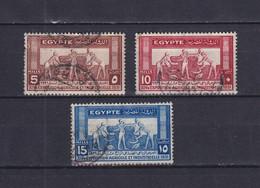 EGYPT 1931, Mi# 153-155, Art, Used - Gebraucht
