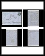 116808 Lettre Bouches Du Rhone Marseille N°60 A Cérès GC 2240 Pour Tarascon 1874 - 1849-1876: Klassieke Periode