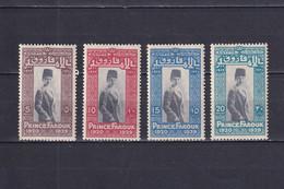 EGYPT 1929, Mi# 144-147, Personalities, MH - Ungebraucht