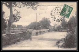 Lettre-111849 Bouches Du Rhone Carte Postale Chute Du Canal 27/9/1912Lamanon Pour Marseille - 1877-1920: Semi-moderne Periode