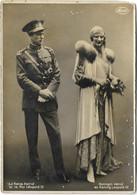 "Photo-carte ""La Reine Astrid Et Le Roi Léopold III"" / ""Konigin Astrid En Koning Leopold III""- Marco MAROVICI, Bruxelles - Case Reali"
