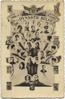 Arbre Généalogique De La DYNASTIE BELGE - Carte-photo - - Case Reali