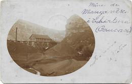 Rare Photo-Carte - 1910 - TCHIATURA (Caucase) Géorgie - Mine De Manganèse - Animée - Vers Mons (B) - Industrie - Georgië