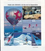 Espagne 2005  Balloons Ballons Canoe Kayack Scuba Diving Plongée Alpinisme  MNH - Montgolfières