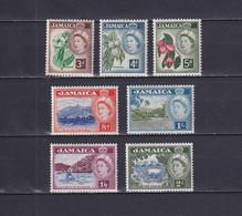 JAMAICA 1956/58, SG# 163-170, Part Set, Nature, Trees, MNH - Jamaica (...-1961)