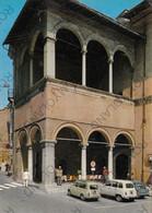 CARTOLINA  MACERATA,MARCHE,LOGGIA DEI MERCANTI,MEMORIA,IMPERO,STORIA,BELLA ITALIA,CULTURA,RELIGIONE,VIAGGIATA 1974 - Macerata