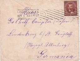 USA 1897 LETTRE DE LOUISVILLE - Cartas