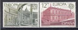 Spain 1978 - EUROPA: Monuments, YT 2119/20, Neufs** - 1971-80 Nuevos & Fijasellos