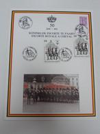 50 Jaar Koninklijk Escorte Te Paard - Cartas Commemorativas
