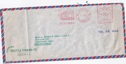 ANTILLES NEERLANDAISES 1962 PLI AERIEN EMA DE  WILLEMSTAD - Niederländische Antillen, Curaçao, Aruba