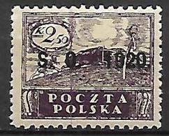 SILESIE  ORIENTALE   -   1920 .   Y&T N° 43 * - Silesia (Lower And Upper)