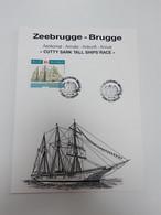 Zeebrugge - Brugge 1995 - Cartas Commemorativas