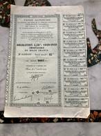 CAISSE AUTONOME De Gestion Des Bons De La Défense Nationale-------Obligation 4,50% 1929 - 1949 - Ohne Zuordnung