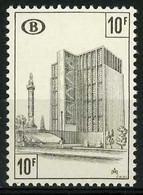 België TR399P4 ** - Strafportzegel - Congresstation Brussel - POLYVALENT Papier - Timbre-taxe - Gare Du Congrès à Brux. - 1952-....