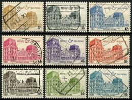 België TR407/15 - Postpakketzegels - Station Van Oostende - Timbres Pour Colis Postaux - Gare D'Ostende - Gestempeld - 1952-....