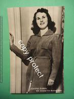 PNRJ93 Deanna Durbin Cinema Actors Photo Postcard - Attori