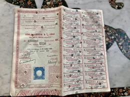 CAISSE AUTONOME De Gestion Des Bons De La Défense Nationale-------Obligation 4%  1941 - 1952 - Ohne Zuordnung