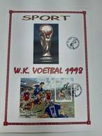 Sport Voetbal - Cartas Commemorativas