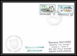 2098 Antarctic Ross Dependency Lettre (cover) Vanda Station 28/1/1983 - Cartas