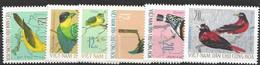 Vietnam Birds Complete Set Mint No Hinge 1966 10 Euros - Zonder Classificatie