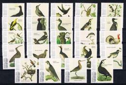 M ++ CARIBISCH NEDERLAND SABA 2021 VOGELS BIRDS OISEAUX  ++ MNH POSTFRIS - Niederländische Antillen, Curaçao, Aruba