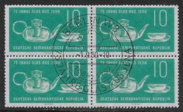 Michel 713 - 1959  - 75 Jahre Jenaer Glaswerke - Sonderstempel - Used Stamps