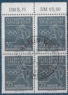 Michel 540 - 1956  - Olympische Sommerspiele - Sonderstempel - Used Stamps
