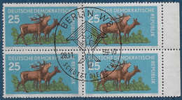 Michel 740 - 1959  - Waldtiere - Sonderstempel: Schütz Die Natur - Used Stamps