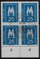 Michel 597 - 1957  - Leipziger Herbstmesse - Sonderstempel - Used Stamps