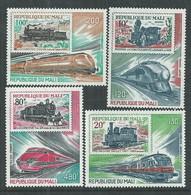 MALI  P. A.  N° 403 / 06 XX Chemin De Fer : Locomotives Les 4 Valeurs Sans Charnière, TB - Mali (1959-...)