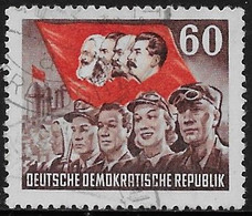 Michel 352 - 1953  - 70. Todestag Karl Marx - Used Stamps