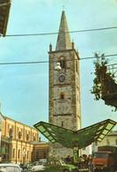 CT-04154- BAGNOLO PIEMONTE - CENTRO STORICO CAMPANILE-AUTO MAGGIOLINO  - CITROEN 2 CAVALLI - Other Cities