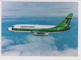 Rare Vintage Rppc Transavia Holland Boeing 737 Aircraft - 1946-....: Modern Era
