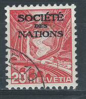 EEE-/-752-YVERT N° 100a, ZUMSTEIN SERVICE SDN N° 51z, OBL., COTE 4.00 €, PAPIER GRILLE, VOIR LES IMAGES - Officials