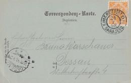 AUTRICHE 1898 CARTE DE SARAJEVO - Cartas