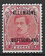 Occupation Belge En Allemagne   -   1919 .  Y&T N° 5 * - Occupation 1914-18