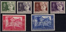 1954 - Nr 955-960 * (1.20 Fr Big Thin Spot) - Nuevos