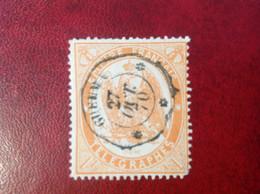 FRANCE TELEGRAPHES N° 7 Oblitéré GUELMA 1870 - Télégraphes Et Téléphones