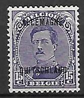 Occupation Belge En Allemagne   -   1919 .  Y&T N° 6 * - Occupation 1914-18