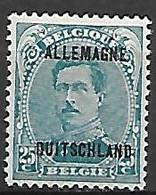 Occupation Belge En Allemagne   -   1919 .  Y&T N° 8 * - Ocupación 1914 – 18