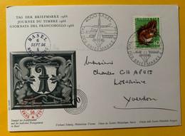 13370 - Tag Der Briefmarken Basel 4.12.1966 - Briefe U. Dokumente