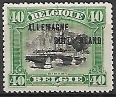 Occupation Belge En Allemagne   -   1919 .  Y&T N° 11 * - Ocupación 1914 – 18