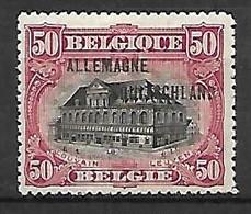 Occupation Belge En Allemagne   -   1919 .  Y&T N° 12 * - Ocupación 1914 – 18