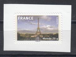 Tour Eiffel AUTO ADHESIF N° 335a, 2009  Neuf **   Grande Marge - KlebeBriefmarken